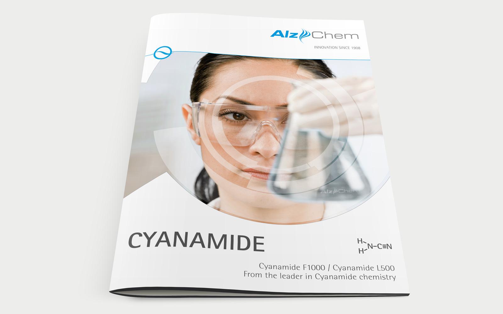 AlzChem Broschüre Cover