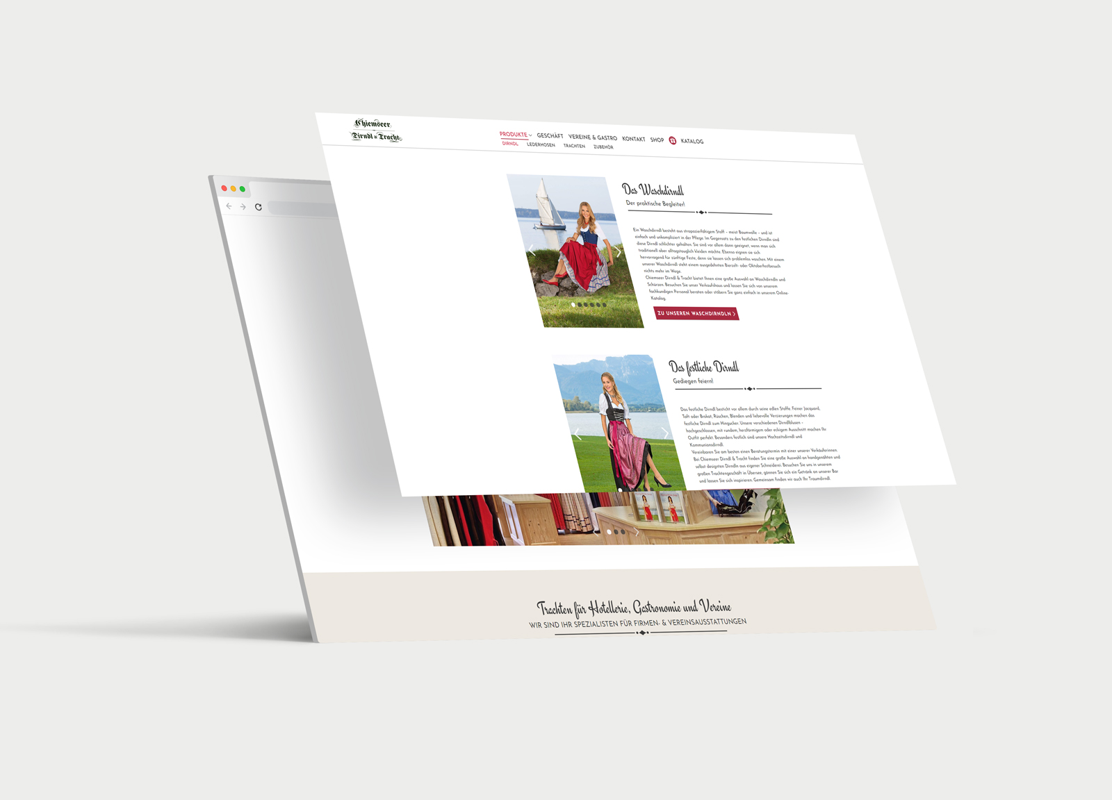 Chiemseer Dirndl & Tracht Website