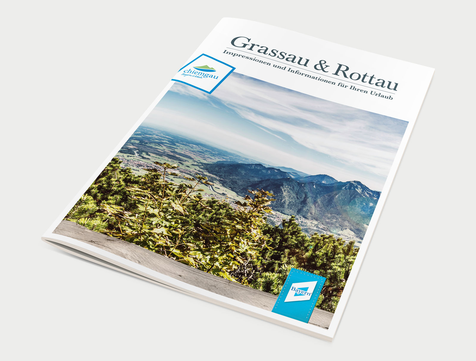 Markt Grassau Imagezeitung Cover
