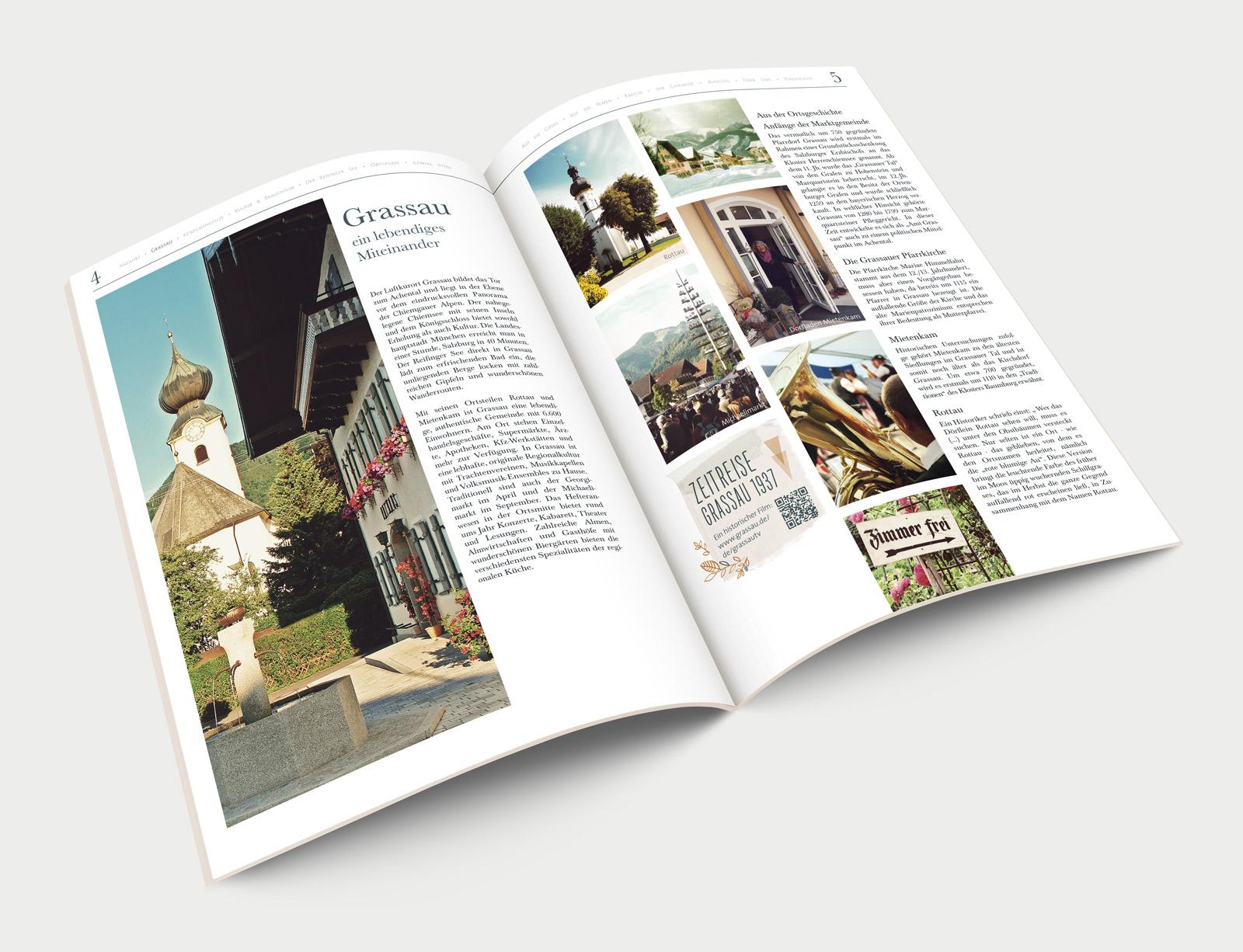 Markt Grassau Imagezeitung Innenseite Grassau