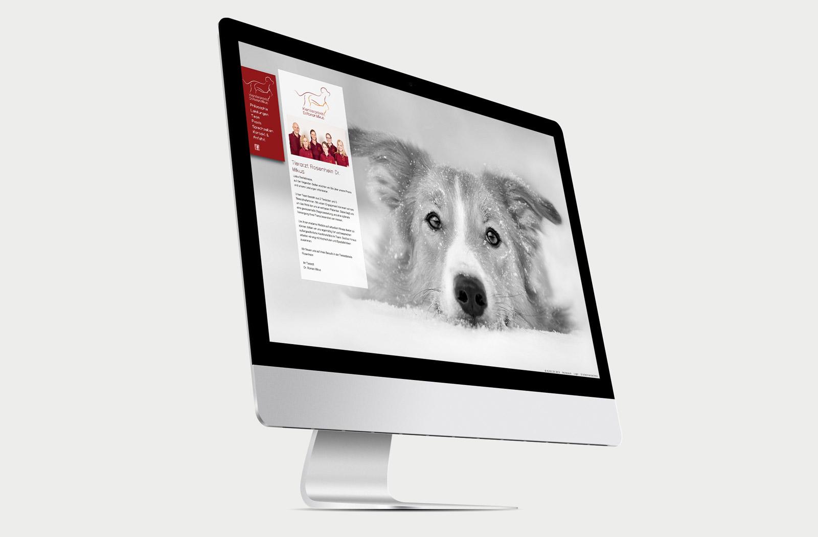 Kleintierpraxis Dr. Roman Mikus Website Startseite