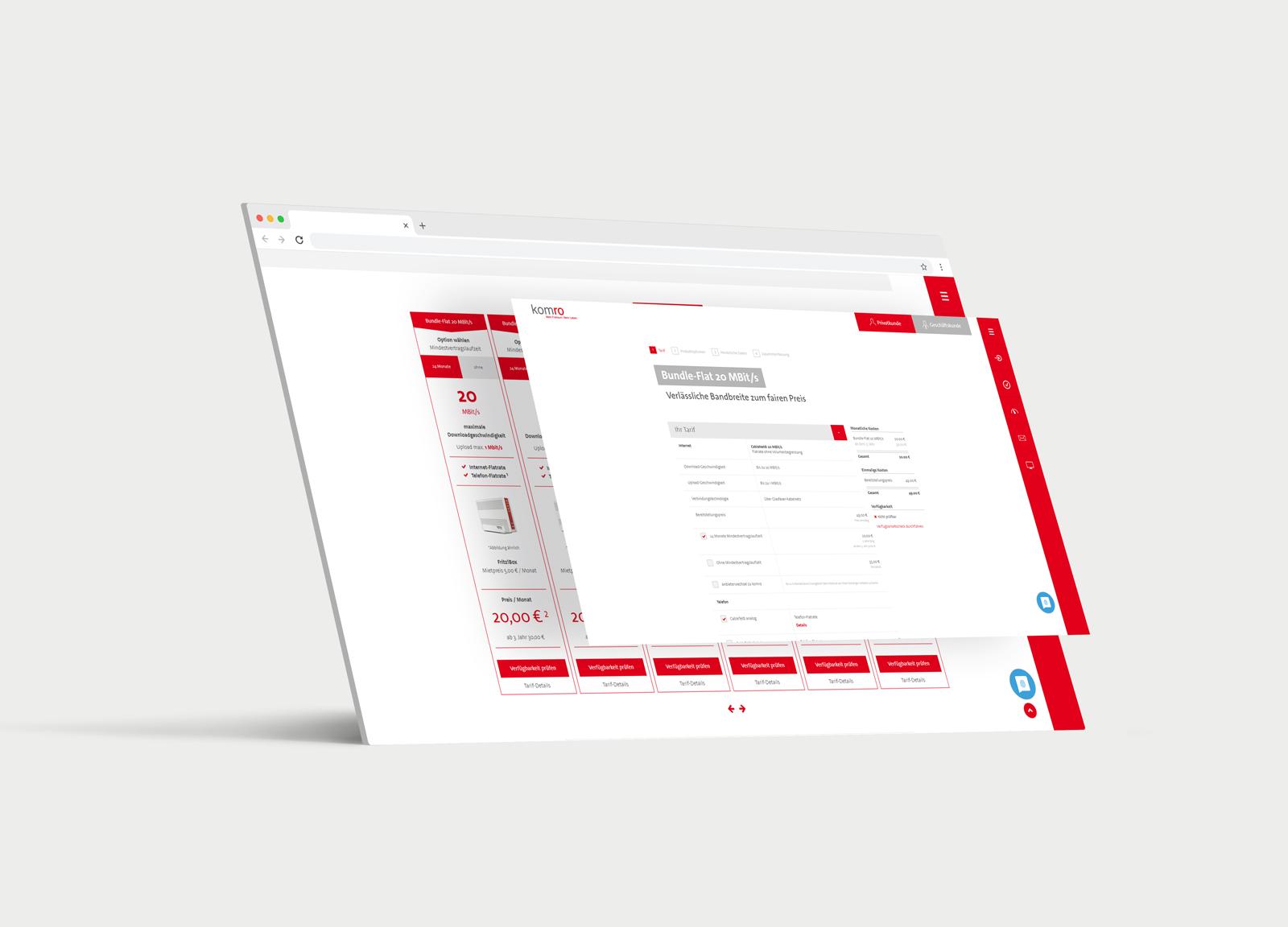 Komro Website Relaunch