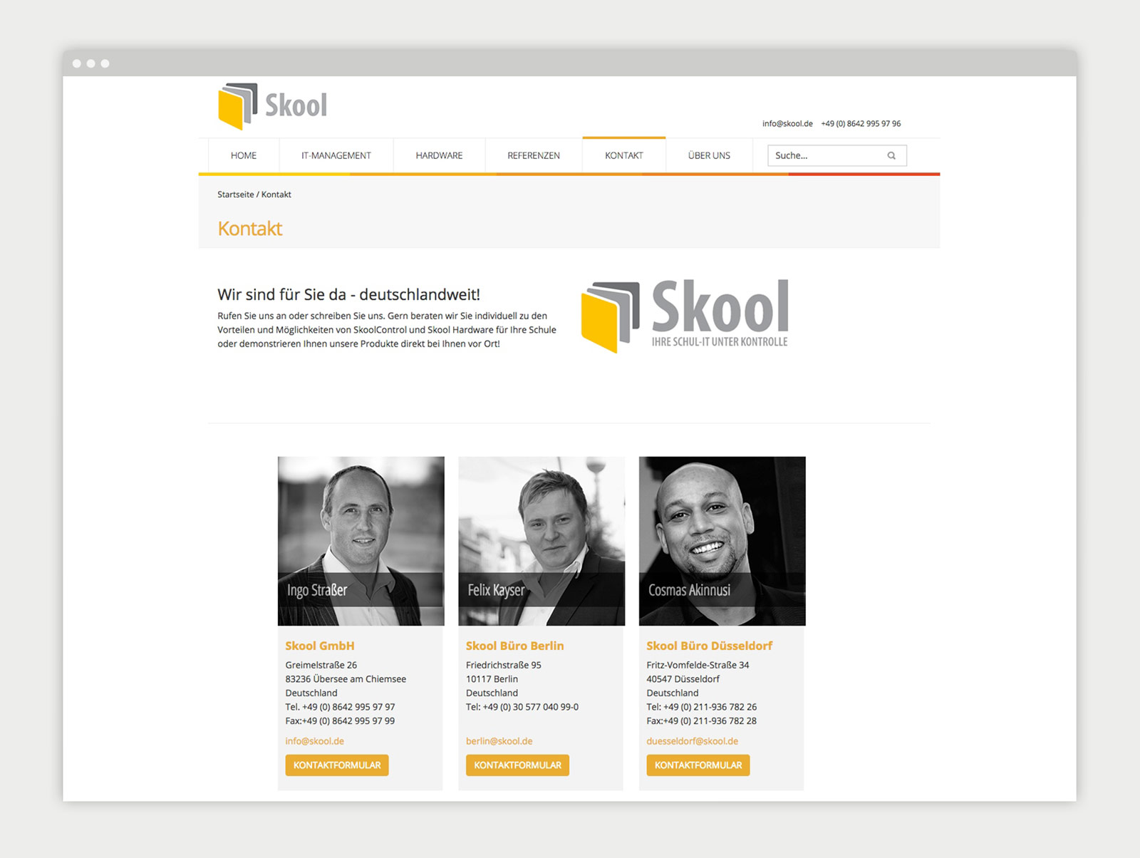 kuse-skool-website-kontakt