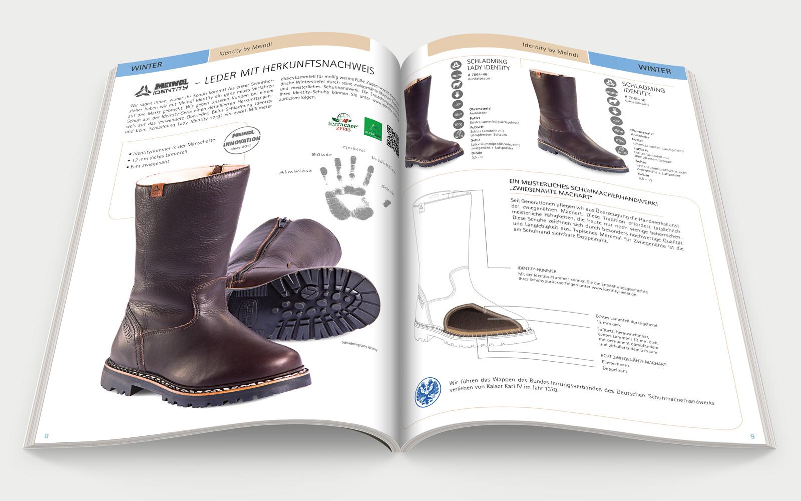 Meindl Katalog Kollection 2014 Innenseite