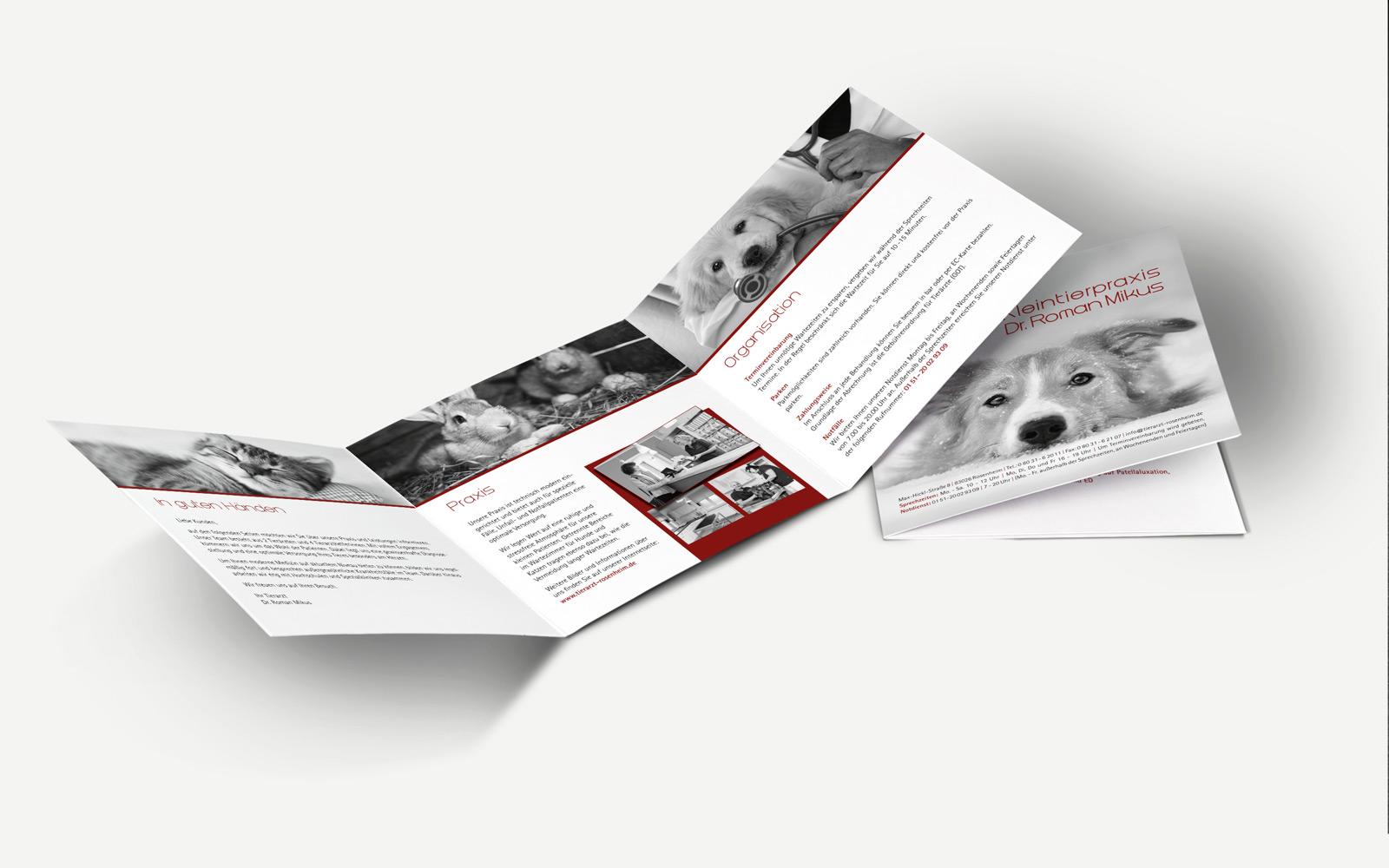 Kleintierpraxis Dr. Roman Mikus Folder