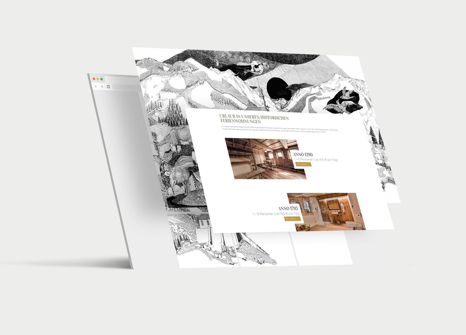 Oberniederhof Website