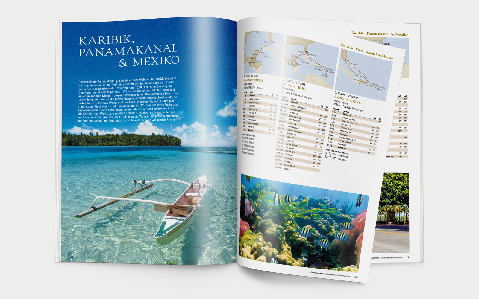 Oceania Cruises Kreuzfahrten Katalog
