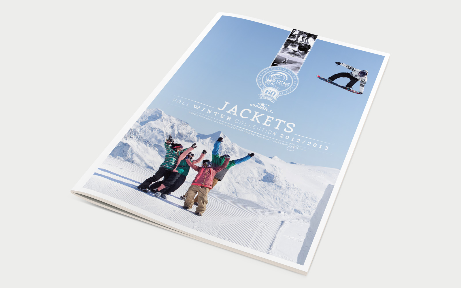 O´neill Katalog Winter Collection 2012/2013 Cover