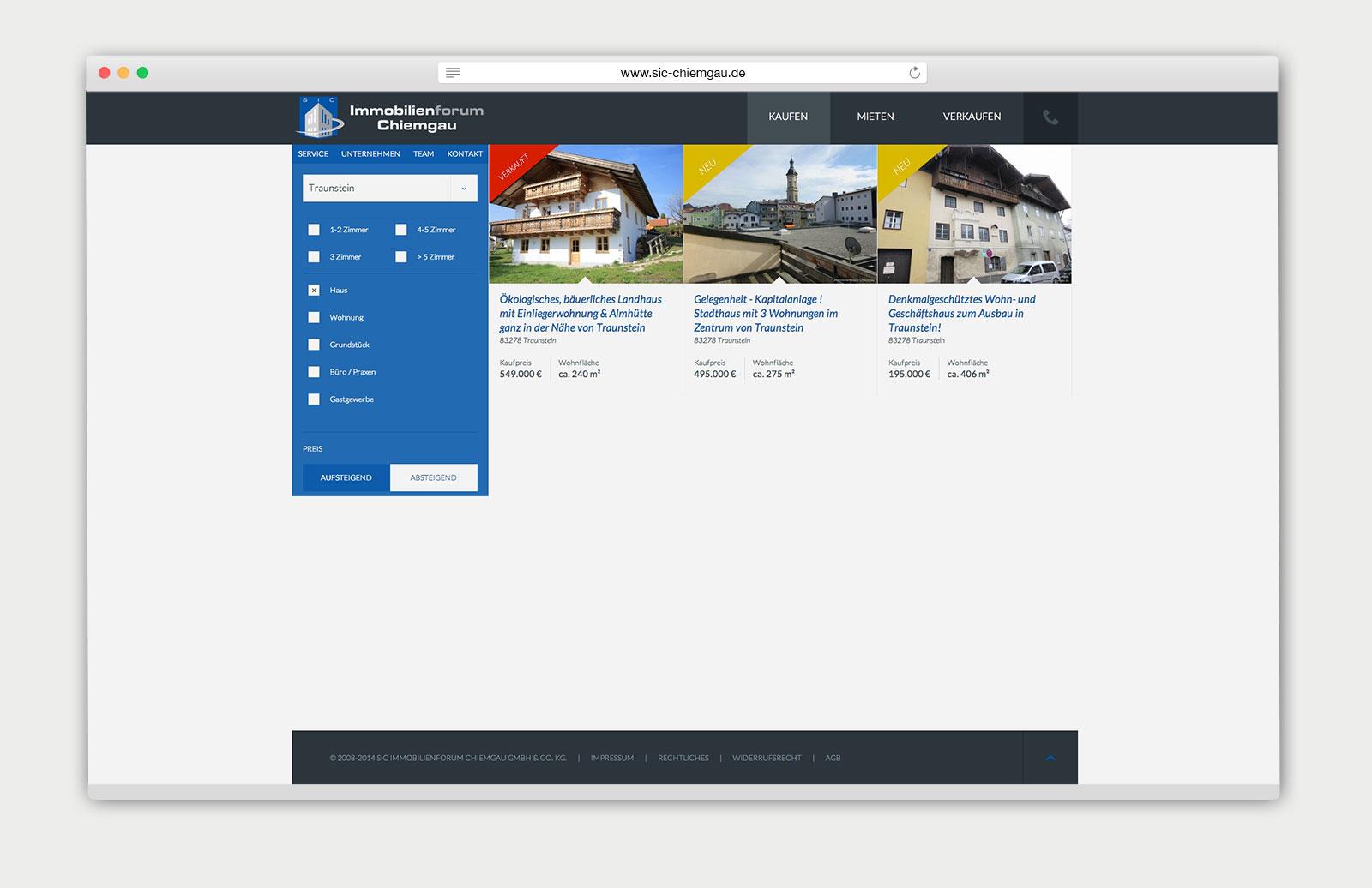 Immobilienforum Chiemgau Detailansicht
