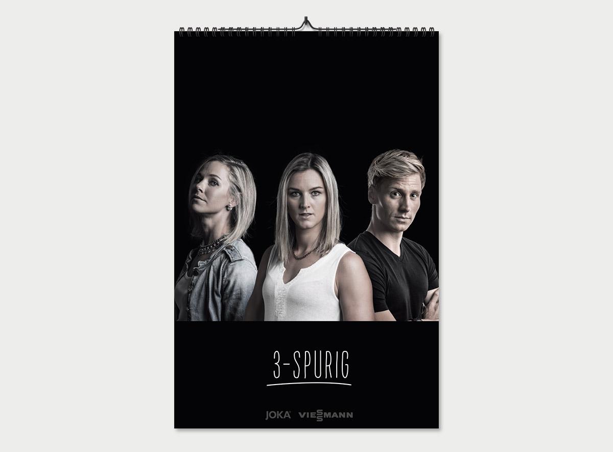 Kalender mit Steffi Böhler, Denise Herrmann und Thomas Wick