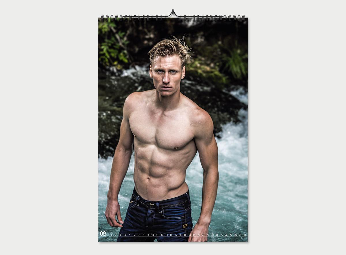 Kalender mit Thomas Wick